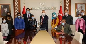 Vali Epcim'e, 3 Aralık Dünya Engelliler Günü Ziyareti