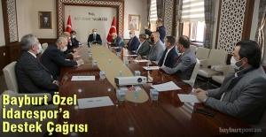 Vali Cüneyt Epcim'den Bayburt Özel İdarespor'a Destek Çağrısı