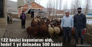 112 Besici Koyunlarını Aldı, Hedef 500 Besiciye Ulaşmak