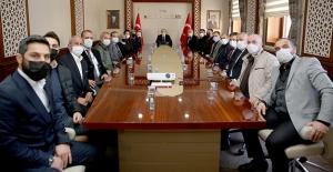 AK Parti Heyetinden Vali Epcim'e ziyaret
