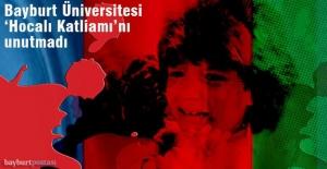 Bayburt Üniversitesi'nden 'Hocalı' sergisi