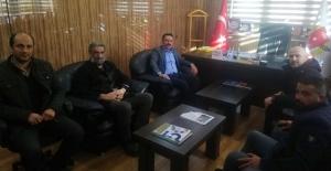 Büyük Birlik Partisi'nden Bayburt Gazeteciler Cemiyetine ziyaret