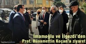 İmamoğlu ve İlgezdi#039;den Prof....