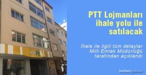 Bayburt PTT Lojmanları ihale usulü ile satılacak