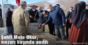 Şehit Mete Okur, mezarı başında anıldı