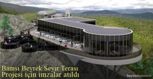 Bamsı Beyrek Seyir Terası Projesi...