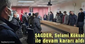 ŞAGDER 'Selami Köksal' ile devam dedi