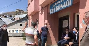 Kaymakam Babacan'dan köylerde bilgilendirme