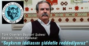 """Türk Ocakları Bayburt Şubesi: """"Biden'in iftirasını şiddetle kınıyoruz"""""""