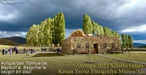 """""""Avrupa 2021 Silletto Ödülü"""" Kenan Yavuz Etnografya Müzesi'nin"""