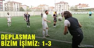 Bayburt Özel İdarespor, Ankara deplasmanında da güldü!