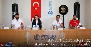 Bayburt Üniversitesinden 19 Mayıs Atatürk'ü Anma, Gençlik ve Spor Bayramı Etkinlikleri