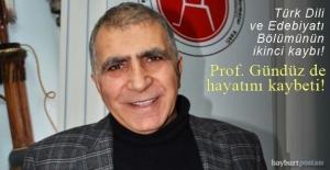 Prof. Dr. Osman Gündüz, hayatını...