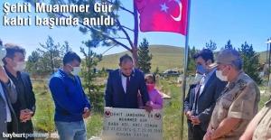 Şehit Muammer Gür, Yukarı Kırzı köyündeki kabri başında anıldı
