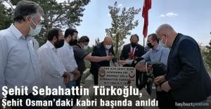 Sebahattin Türkoğlu, şehadetinin 33. yılında anıldı