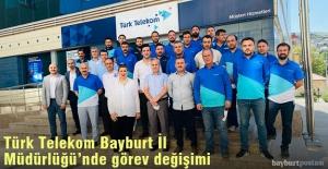 Türk Telekom Bayburt İl Müdürü...