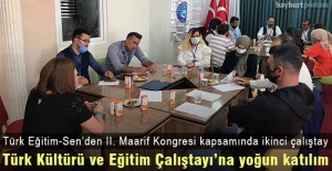 2. Maarif Kongresi kapsamında Bayburt'ta Kültür ve Eğitim Çalıştayı