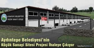 Aydıntepe Belediyesi'nin Küçük Sanayi Sitesi Projesi İhaleye Çıkıyor