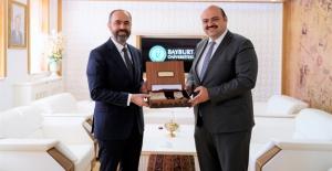 Aziziye Belediye Başkanı Orhan'dan Rektör Türkmen'e Ziyaret