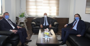 Başsavcı Bıçakçı ve Bilgin'den Başkan Pekmezci'ye veda ziyareti