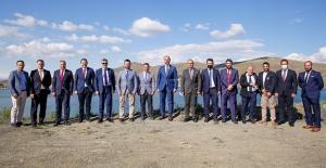 Bayburt Üniversitesi Rektörü Prof. Dr. Mutlu Türkmen'e ziyaret