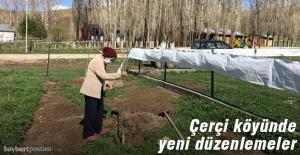 Çerçi köyünde yeni düzenlemeler