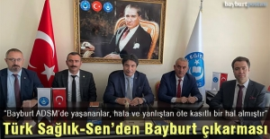 """İsmail Türk: """"Bayburt ADSM personeli sürekli mobbinge maruz bırakılıyor"""""""