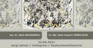 Sanat ve Tasarım Fakültesi Öğrencilerinden Çevrim İçi Resim Sergisi