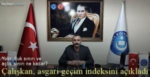 Ahmet Çalışkan, Temmuz ayı geçim indeksi sonuçlarını açıkladı