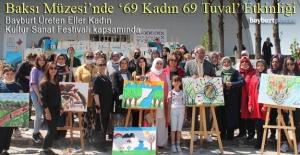 Baksı Müzesi'nde '69 Kadın 69 Tuval Resim Etkinliği'