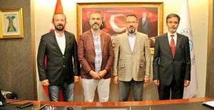Rektör Türkmen'den Ankara, İstanbul ve Sakarya'da Bir Dizi Ziyaretler