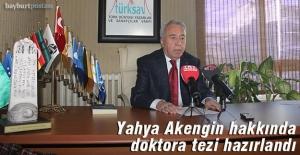 Yahya Akengin hakkında doktora tezi