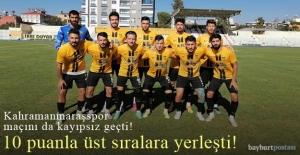 An Zentrum Bayburt Özel İdarespor'dan üst üste 3. galibiyet!