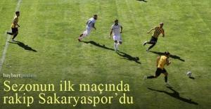 AN Zentrum Bayburtspor, ligin ilk maçında...