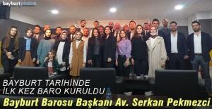 Bayburt Barosu Başkanı Avukat Serkan...