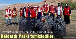 Bayburt'ta 'Dünya Temizlik Günü' etkinliği