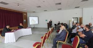 Bayburt'ta Kentsel Dönüşüm için mülkiyet sahipleri ile görüşme