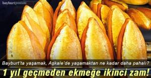 Bayburt#039;ta son 1 yılda ekmeğe...