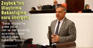 Milletvekili Zeybek#039;ten Baksı...