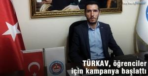 TÜRKAV Bayburt Şubesi, öğrenciler için kampanya başlattı