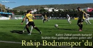 Bayburt Özel İdarespor, Bodrum'da İbrahim Alan'la güldü!