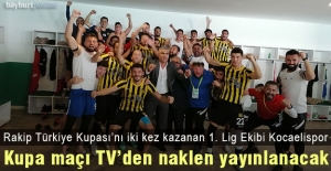Bayburt Özel İdarespor, Ziraat Türkiye Kupasında Kocaeli deplasmanında