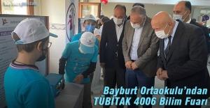 Bayburt'ta 25 öğretmen, 75 öğrenciden TÜBİTAK 4006 Bilim Fuarı