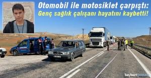Bayburt'ta yaşanan kazada genç sağlık çalışanı hayatını kaybetti!