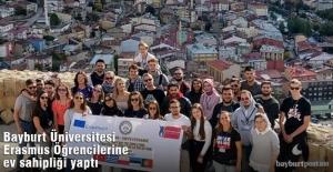 Bayburt Üniversitesi Erasmus+ Öğrencilerine Ev Sahipliği Yaptı
