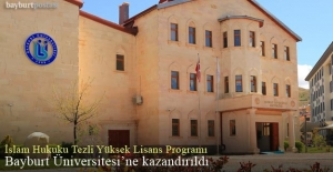 Bayburt Üniversitesi'nde İslam Hukuku Tezli Yüksek Lisans Programı açıldı
