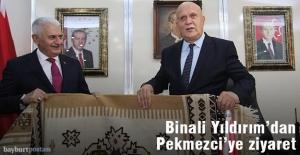 Binali Yıldırım'dan Başkan Pekmezci'ye Ziyaret