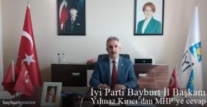 İYİ Parti İl Başkanı Yılmaz Kırıcı#039;dan...