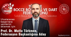 Rektör Mutlu Türkmen, Türkiye Bocce Bowling ve Dart Federasyonu Başkanlığına Aday