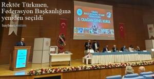 Rektör Türkmen, Bocce, Bowling ve Dart Federasyonu Başkanlığına Yeniden Seçildi